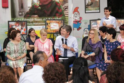 A new milestone in integrating Roma children in